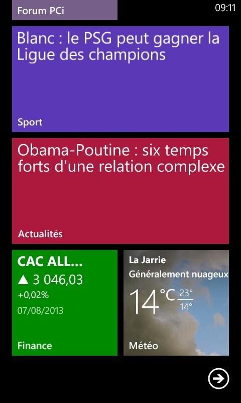 Applications Bing windows Phone 8