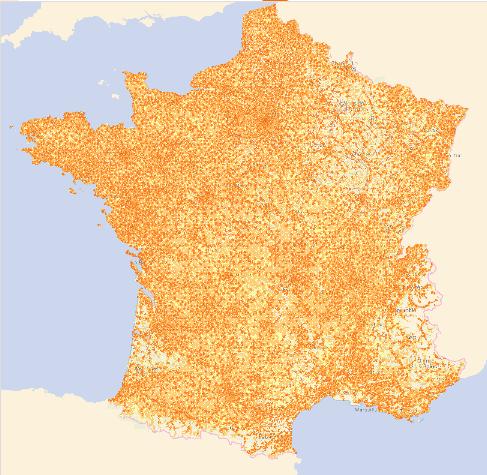 Orange couverture ADSL