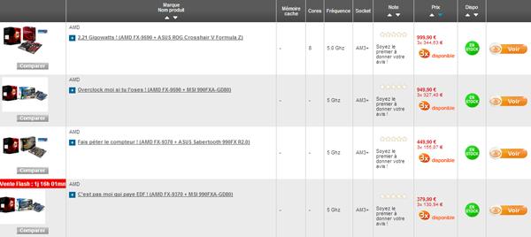 AMD FX Rue du Commerce