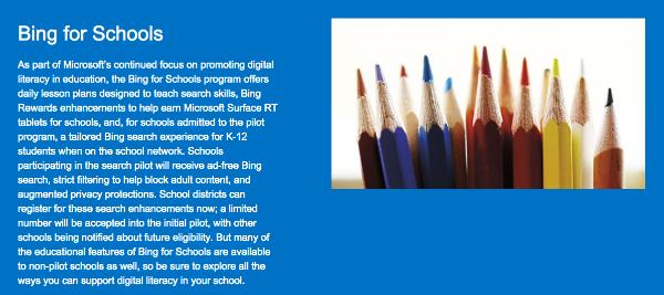 Bing Schools