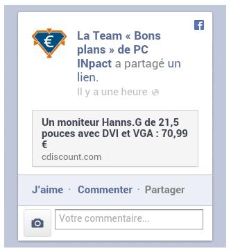 Facebook intégration