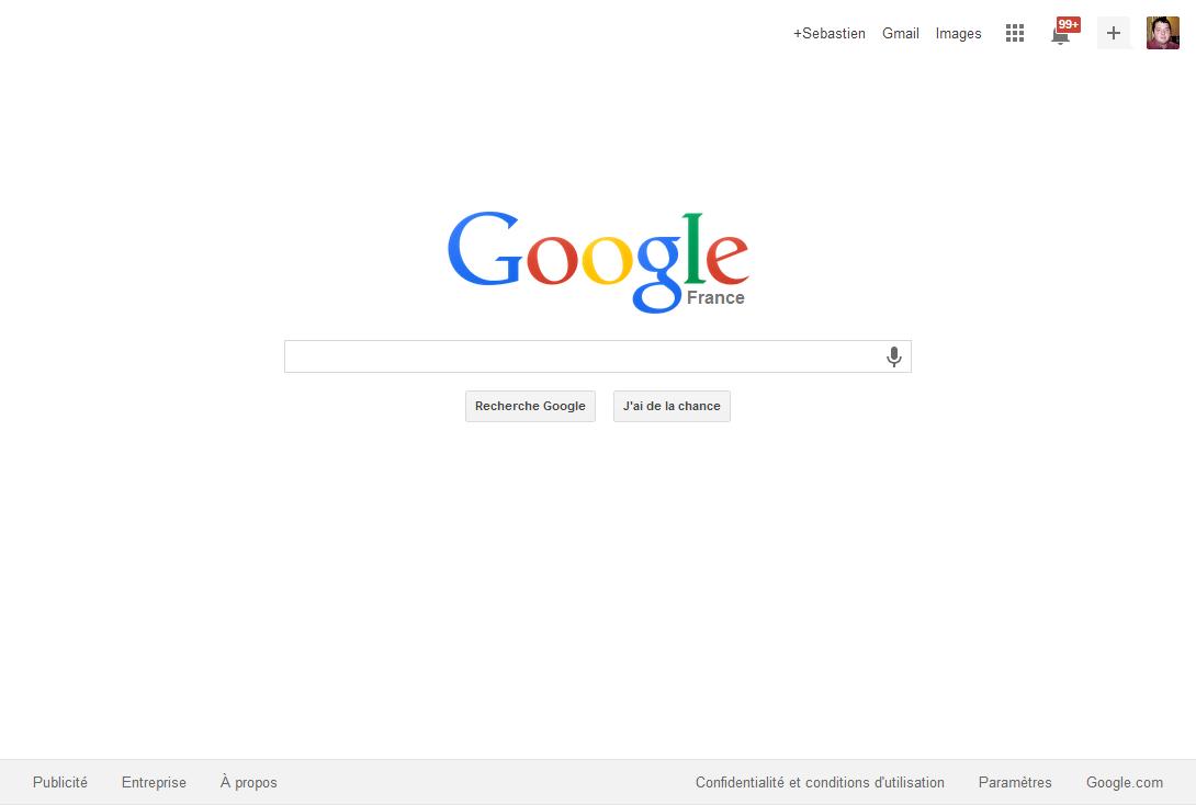 google une page daccueil encore plus 233pur233e un nouveau