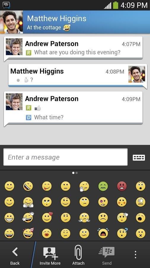 Rencontres blackberry messenger