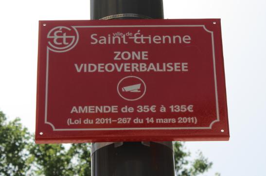 vidéoverbalisation police saint-étienne