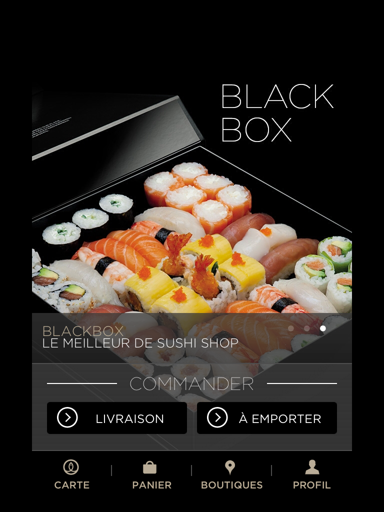 Sushi Shop iOS