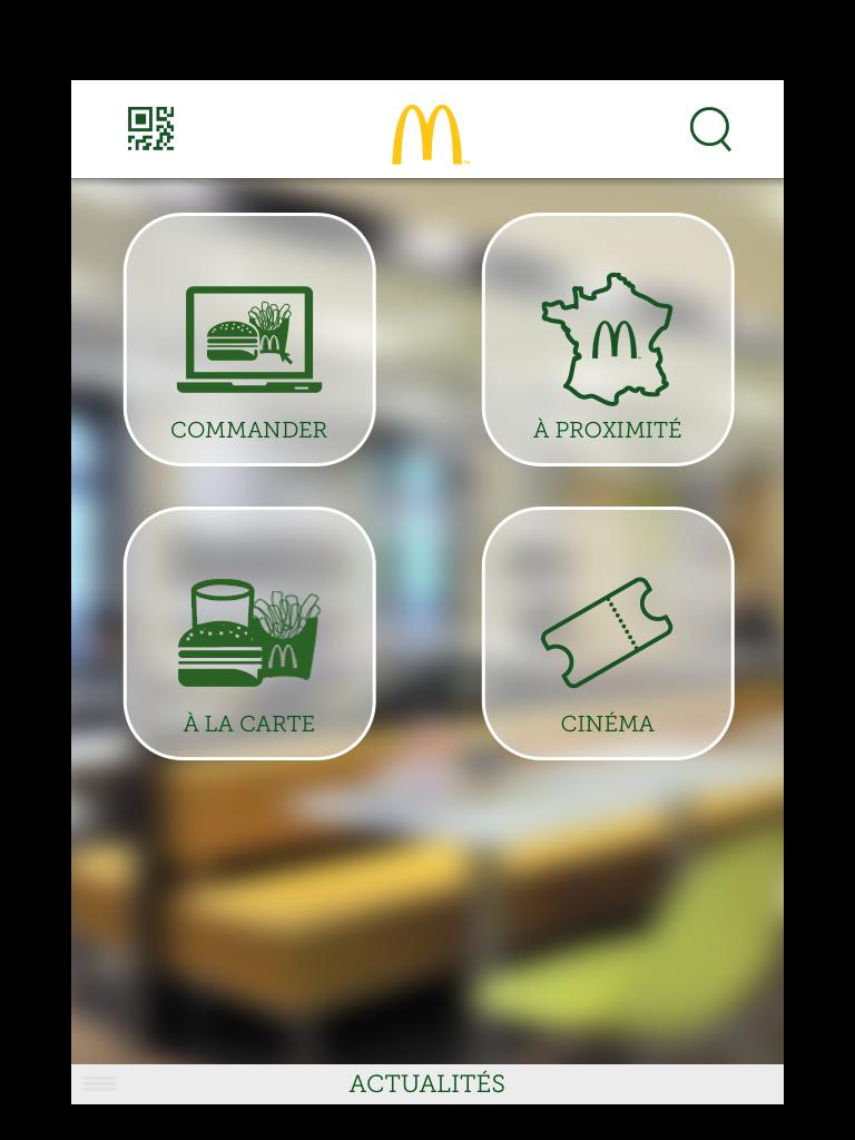 Mc Donald's iOS