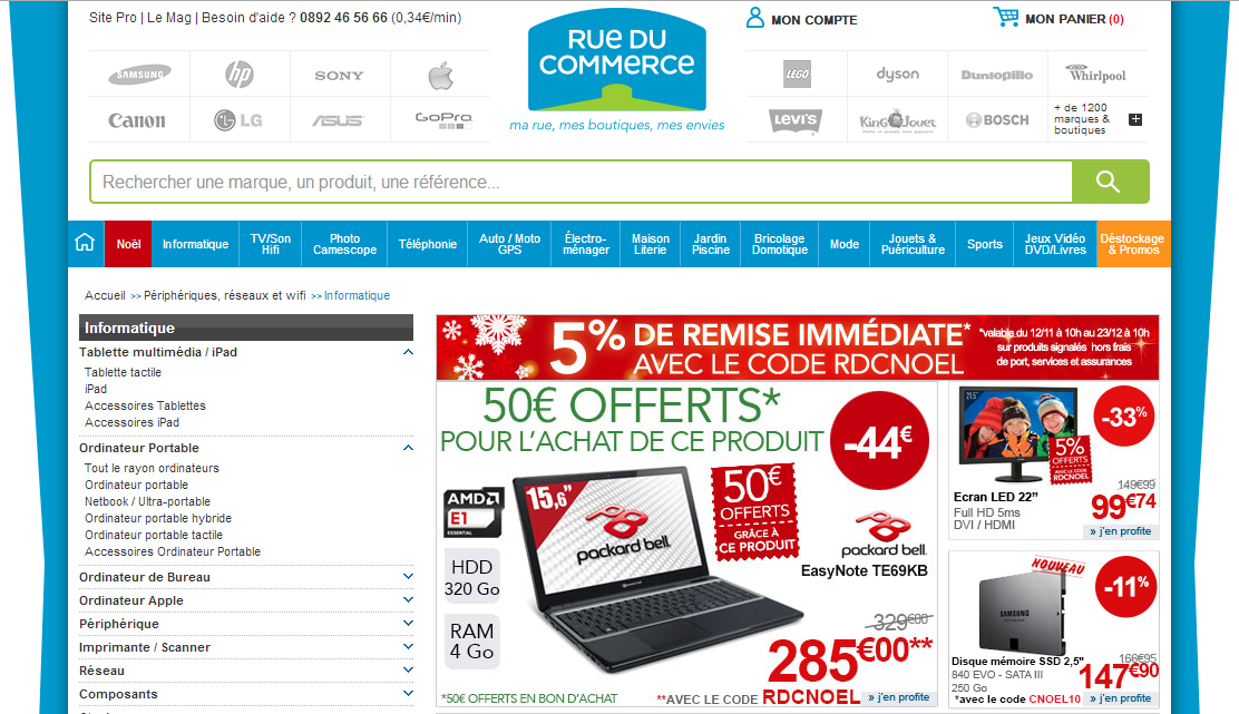 Interview cl ment agnello responsable pc tablettes de rue du commerce - Rue du commerce aspirateur ...