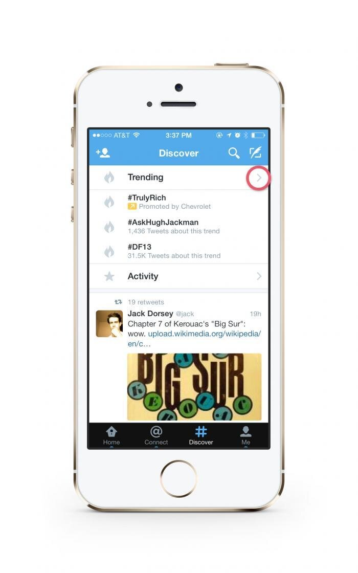 Twitter Mobile Search Update