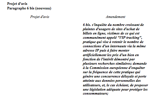 amendement castex