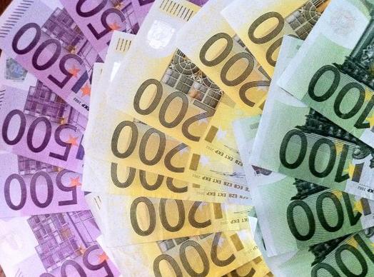 Argent cash euros morguefile
