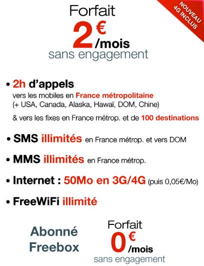 Free Mobile 0 €