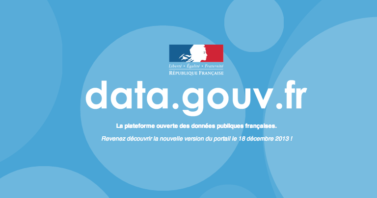 etalab data.gouv.fr open data