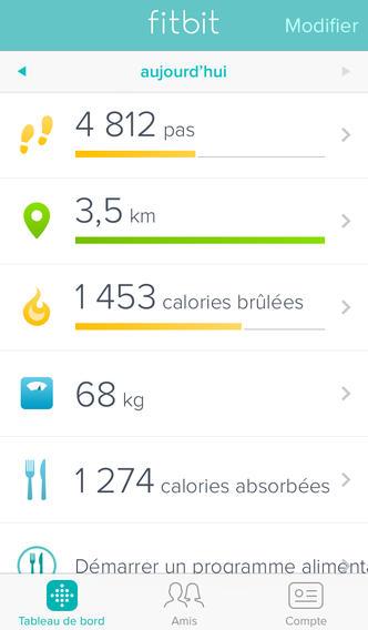 Fitbit iOS