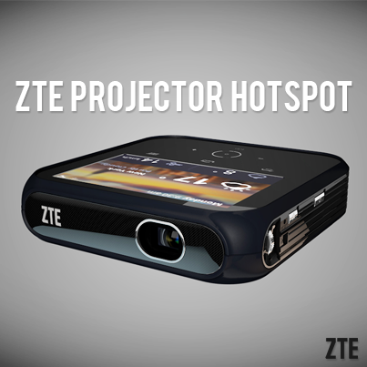 CES 2014 ZTE vidéoprojecteur Hot spot