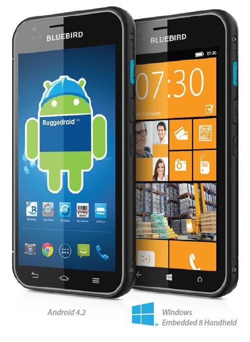 Bluebird BM180 Android Windows Embedded 8 Handheld