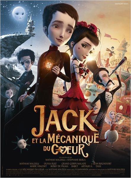 Affiche Jack Mécanique du coeur