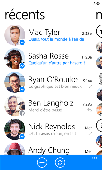 facebook Messenger Windows Phone 8