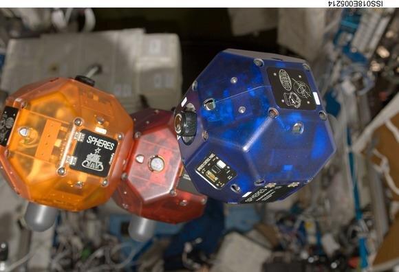 NASA Spheres ISS