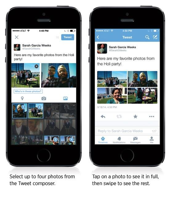 Tweeter multiple photos