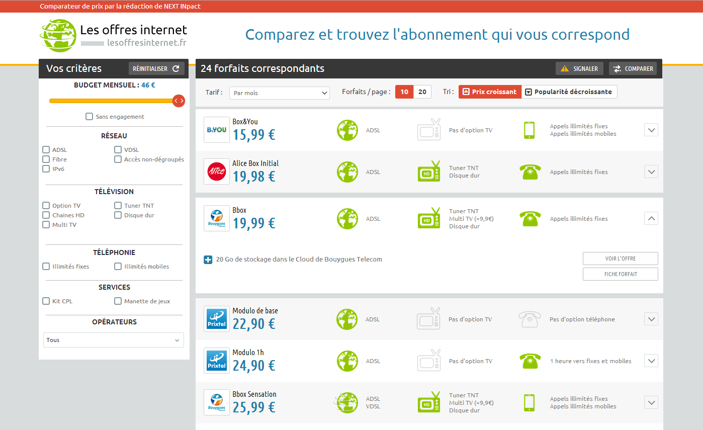 Sites de rencontre comparatif