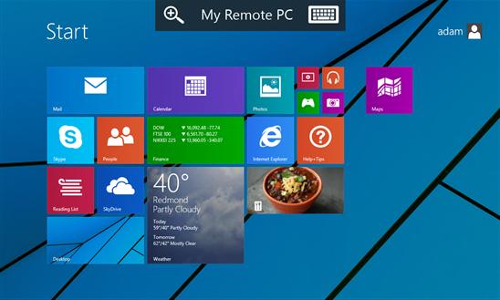 Microsoft RDP Windows Phone