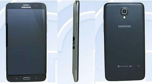 un smartphone samsung avec cran 7 pouces une fatalit. Black Bedroom Furniture Sets. Home Design Ideas