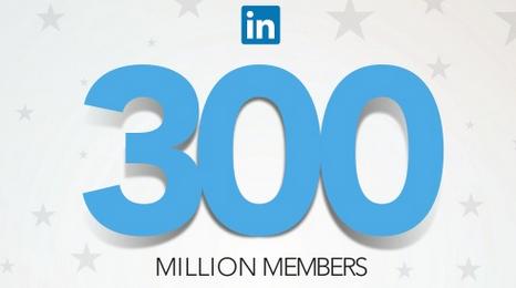 Linkedin 300 millions