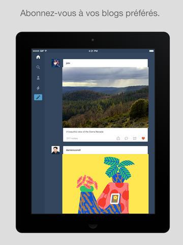 Tumblr iOS