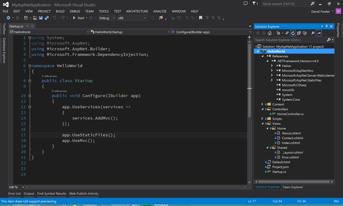 Le Compilateur Roslyn D Barque Dans Visual Studio 14