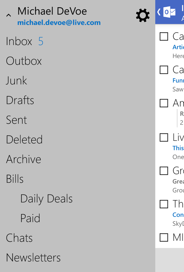 outlook.com android