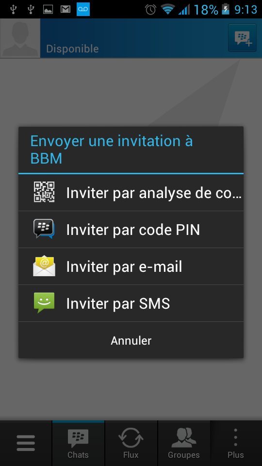 BlackBerry Messenger BBM 2.2