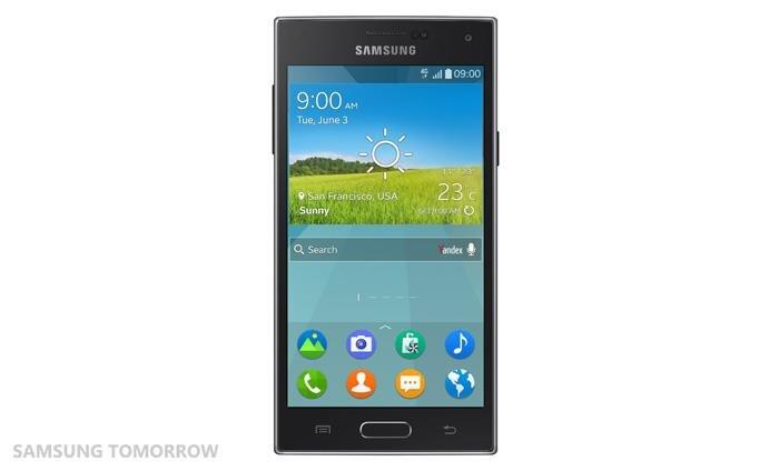 Tizen en force chez Samsung : smartphone Z, TV connectées et