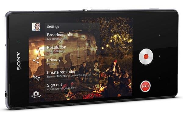 YouTube Xperia Z2