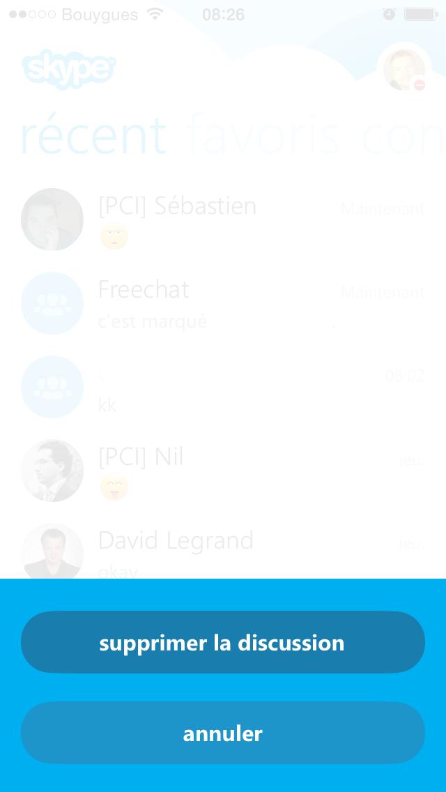 skype 5.1 ios