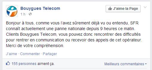 Troll Bouygues SFR