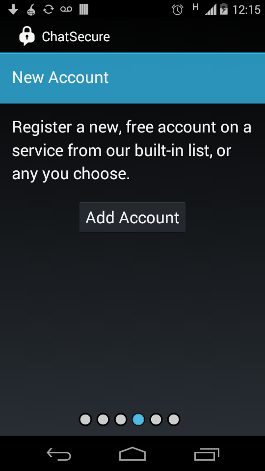 ChatSecure Beta 13.2 Android