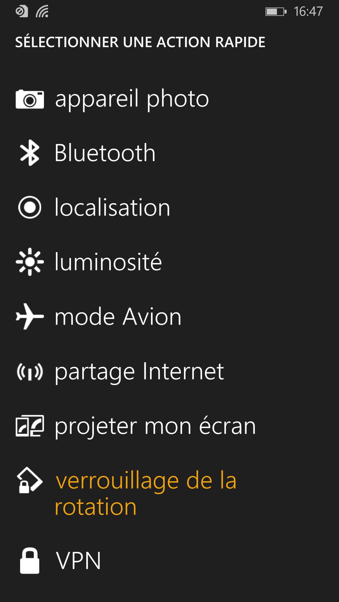 windows phone 8.1 centre notifications