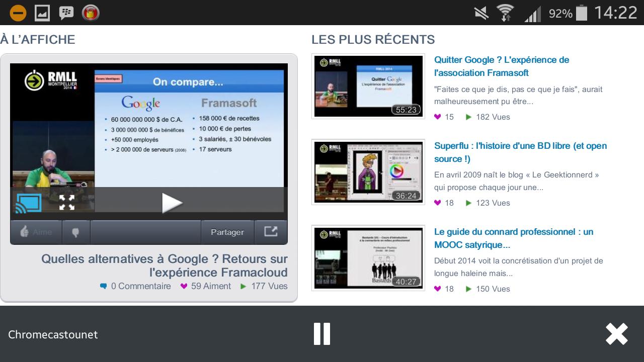 Chromecast débarque dans la version « Nightly » de Firefox pour Android