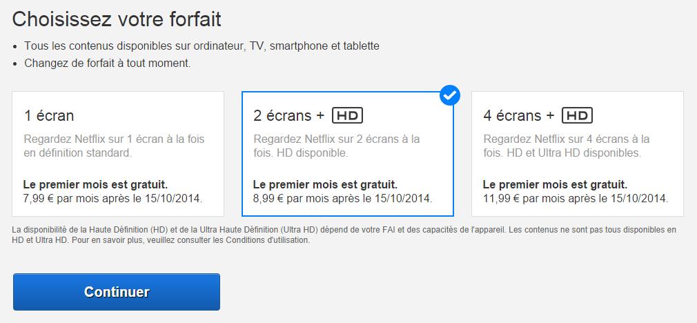 Netflix disponible en france partir de 7 99 par mois tout ce qu 39 il faut savoir - Canalplay com multiecrans ...