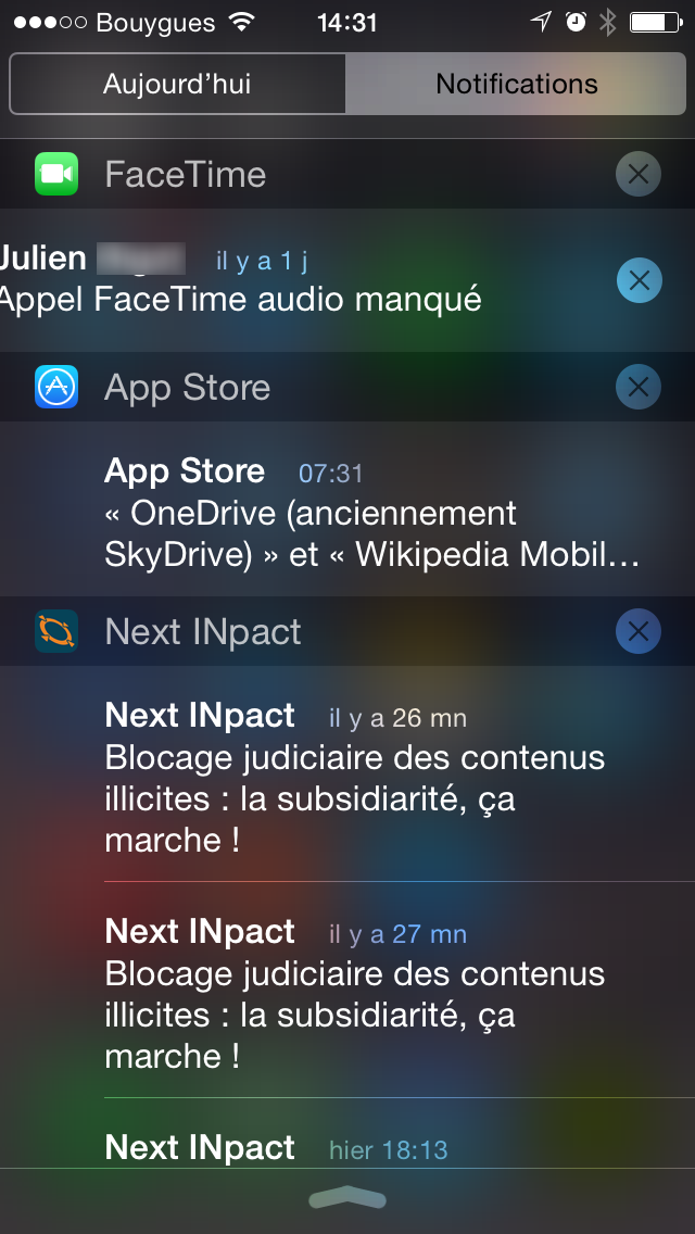 ios8 notifications