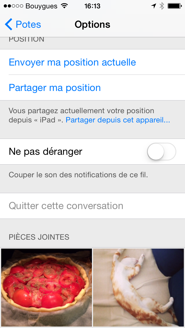 ios8 messages