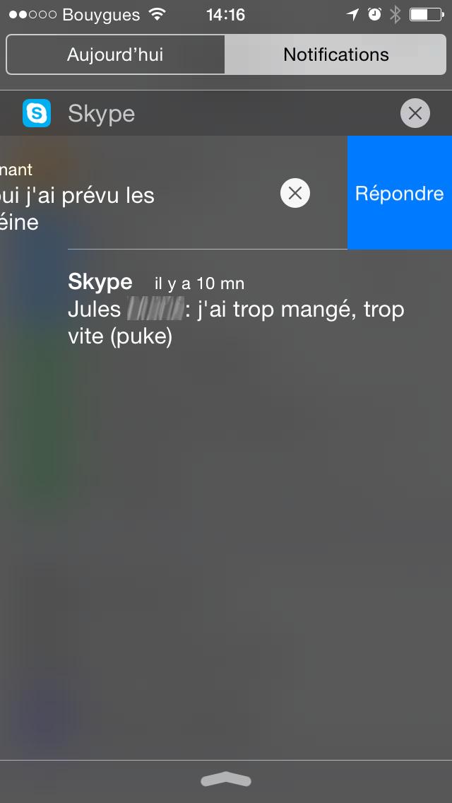 skype ios8