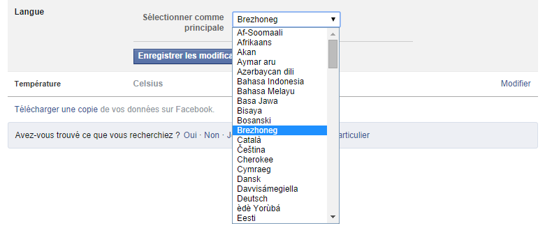 Facebook Breton