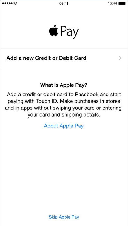 ios 8.1 apple pay