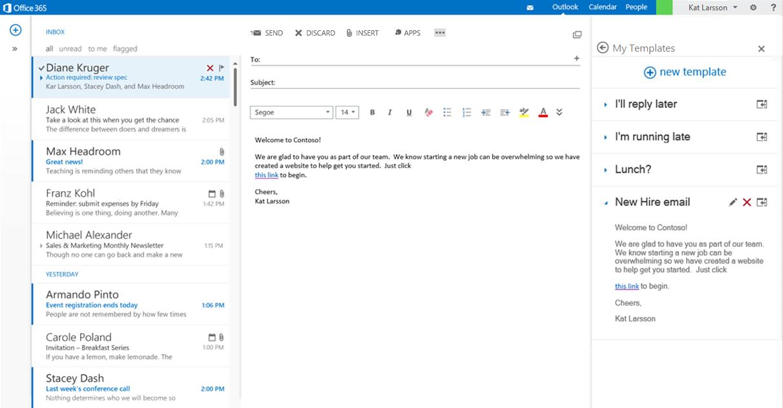 De nouvelles api pour office 365 et des extensions pour for Python email template