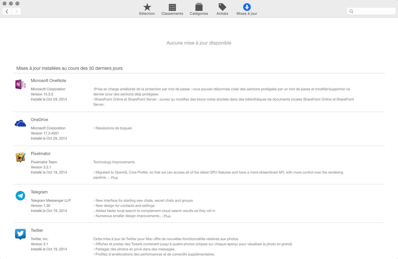 yosemite app store