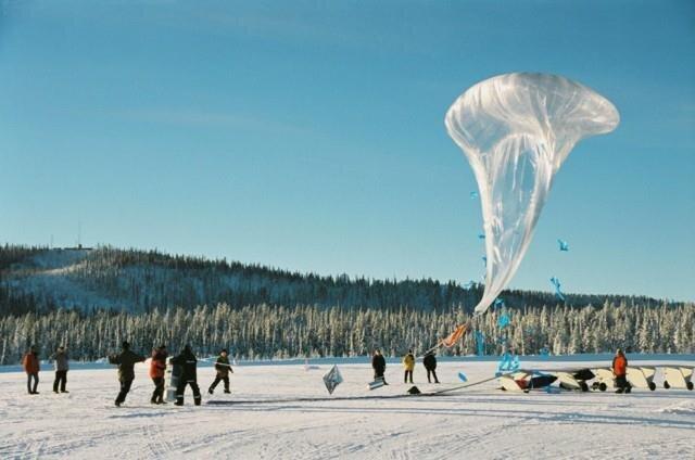 Tests de vol à Kiruna (Suède)
