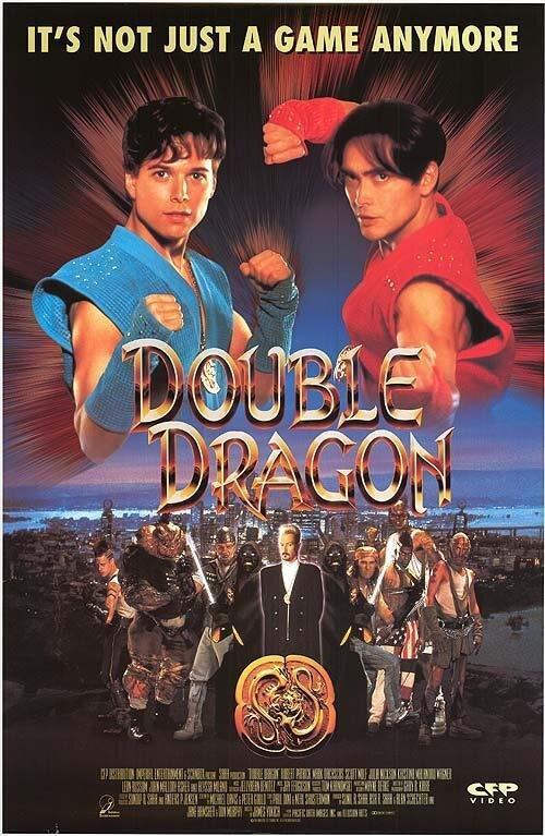 Double Dragon Film Affiche