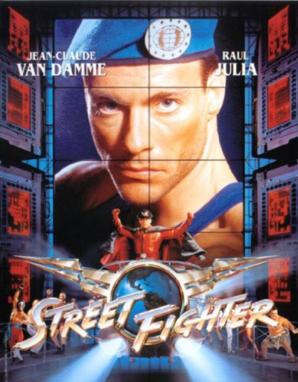 Street Fighter Film Affiche