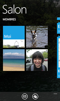 Windows Phone 8 WP8 Salons Rooms